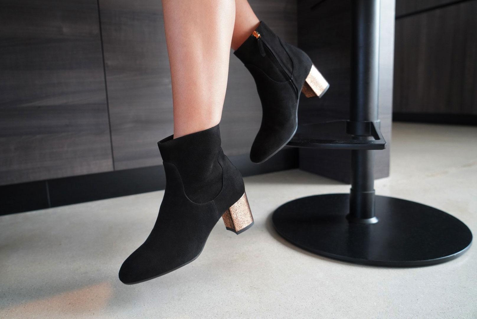 SAS Simi Metallic Heel
